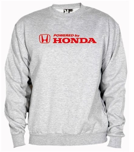 Sudadera Powerded by Honda, color y talla a elegir.