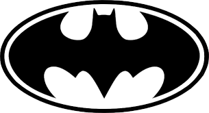 Batman logo, tamaño y color a elegir.