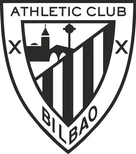 Athletic de Bilbao, pegatina. tamaño y color a elegir.