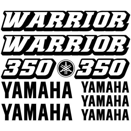 Kit de pegatinas Yamaha Warrior 350, color a elegir