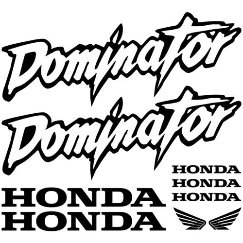 Kit de pegatinas Honda Dominator, color a elegir