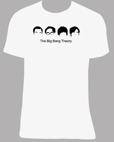 Camiseta The Big Bang Theory, tallas y colores a elegir